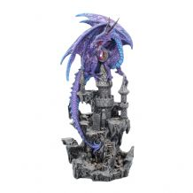 PURPLE REIGN DRAGON FIGURINE